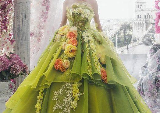 Няколко идеи за нестандартна сватбена рокля